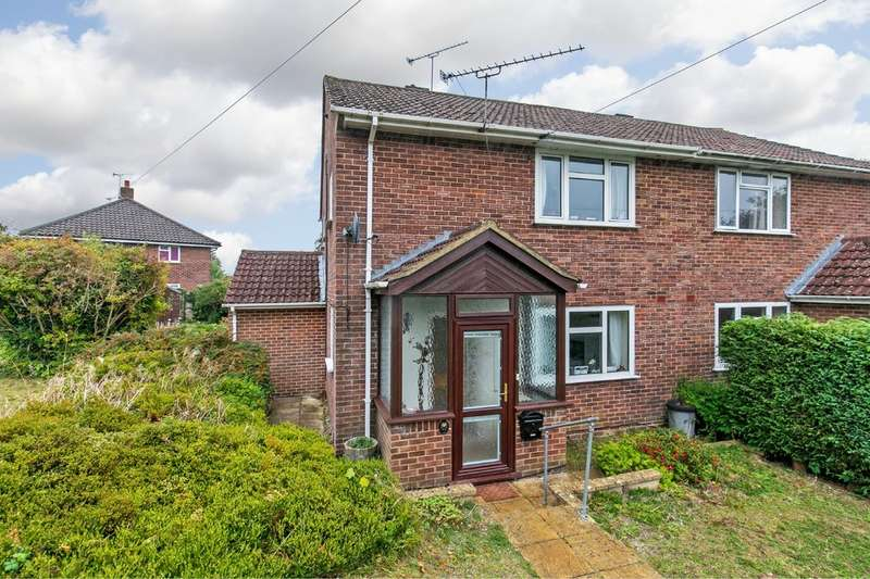 4 Bedrooms Semi Detached House for sale in Walpole Road, Winchester, SO22