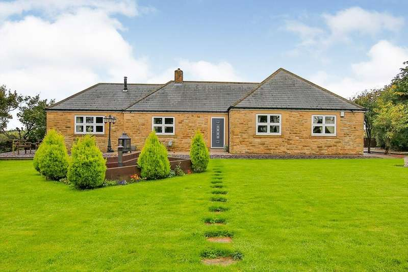 4 Bedrooms Detached Bungalow for sale in Rowley, Consett, DH8
