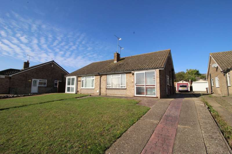 2 Bedrooms Semi Detached Bungalow for sale in Painters Ash Lane, Northfleet, Gravesend, Kent, DA11
