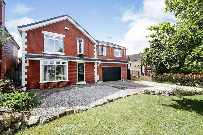 4 Bedrooms Detached House for sale in Swinston Hill Road, Dinnington, Sheffield, South Yorkshire, S25