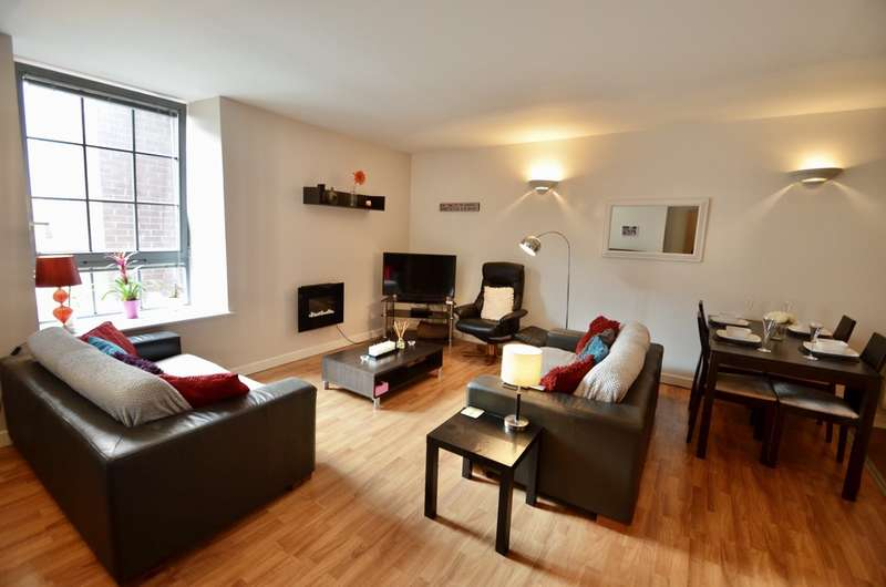 2 Bedrooms Flat for sale in Block 3, The Hicking Building, Queens Road