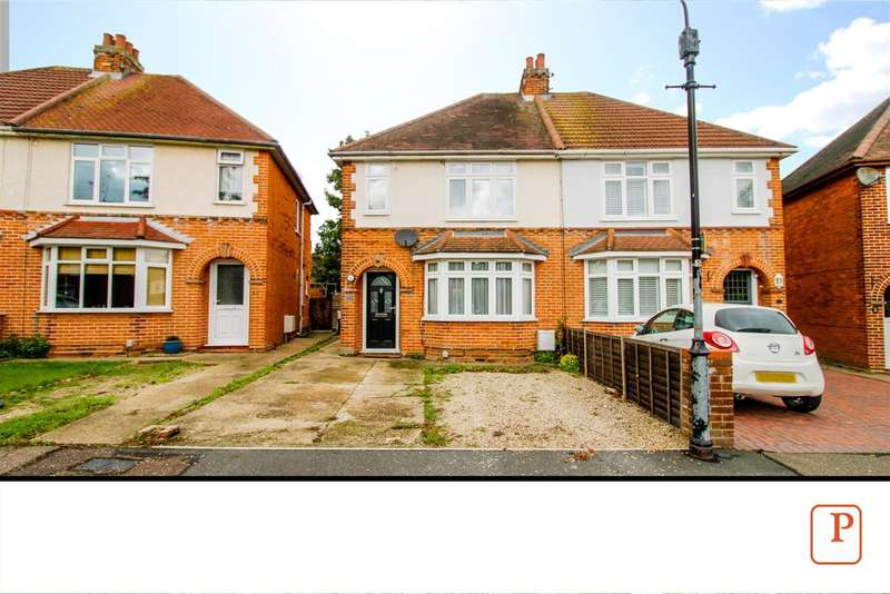 2 Bedrooms Semi Detached House for sale in Smythies Avenue, Colchester, CO1