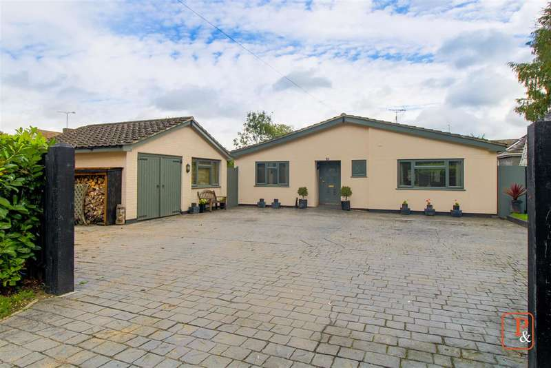 4 Bedrooms Bungalow for sale in Spring Lane, Eight Ash Green, Colchester, CO6