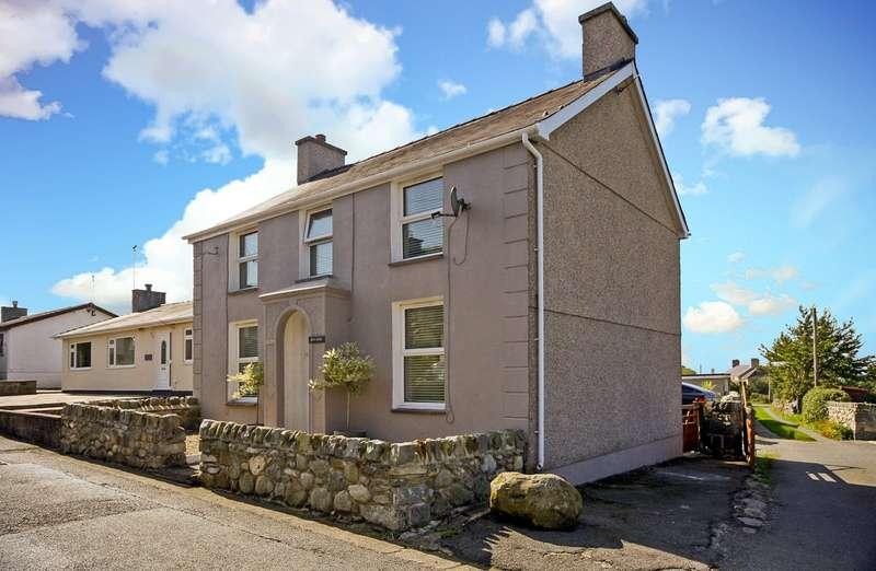 3 Bedrooms Detached House for sale in Rhosisaf, Rhostryfan, Caernarfon, Gwynedd, LL54