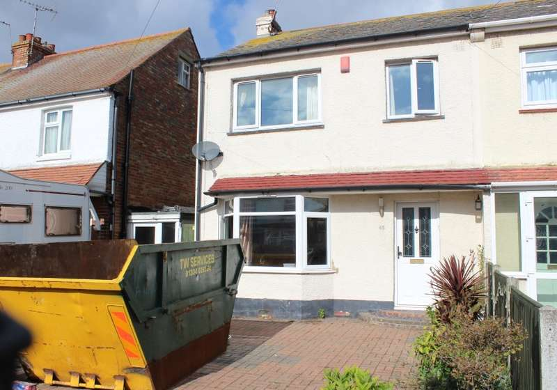 3 Bedrooms Semi Detached House for sale in Whitfield Avenue, Broadstairs, Kent, CT10 3HX