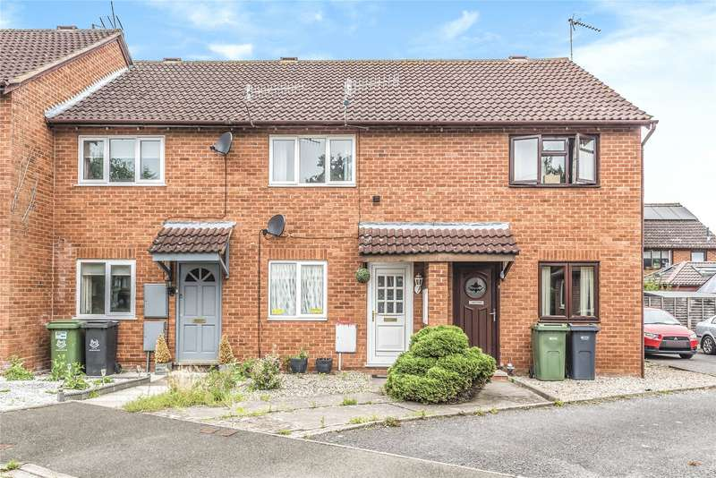 2 Bedrooms Terraced House for sale in Salters Close, Worcester, Worcestershire, WR4