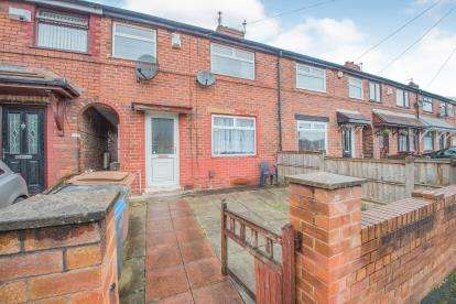 3 Bedrooms Terraced House for sale in Eldon Road, Irlam, Manchester, Greater Manchester