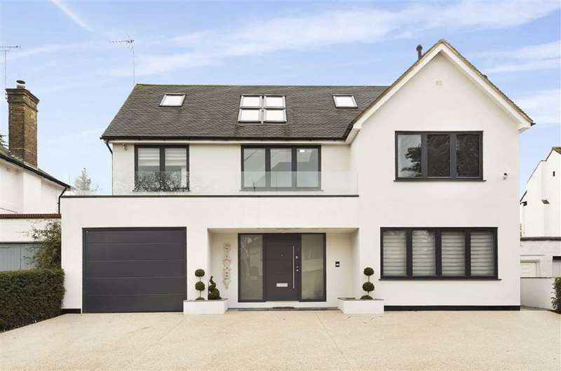 5 Bedrooms Detached House for sale in Arkley Drive, Arkley