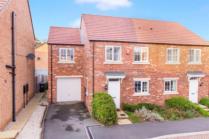 3 Bedrooms Semi Detached House for sale in Cedar Drive, Killingbeck, Leeds