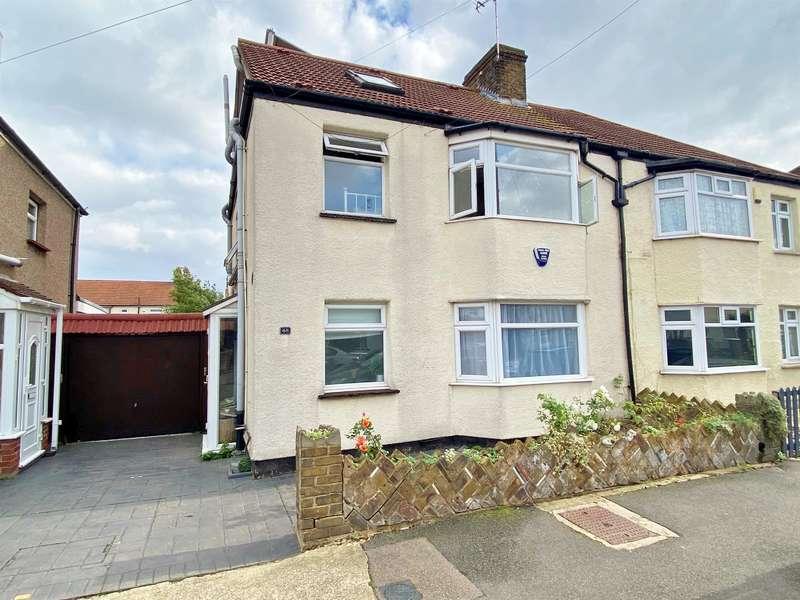 4 Bedrooms Semi Detached House for sale in Bethel Road, Welling, Kent, DA16 1SB