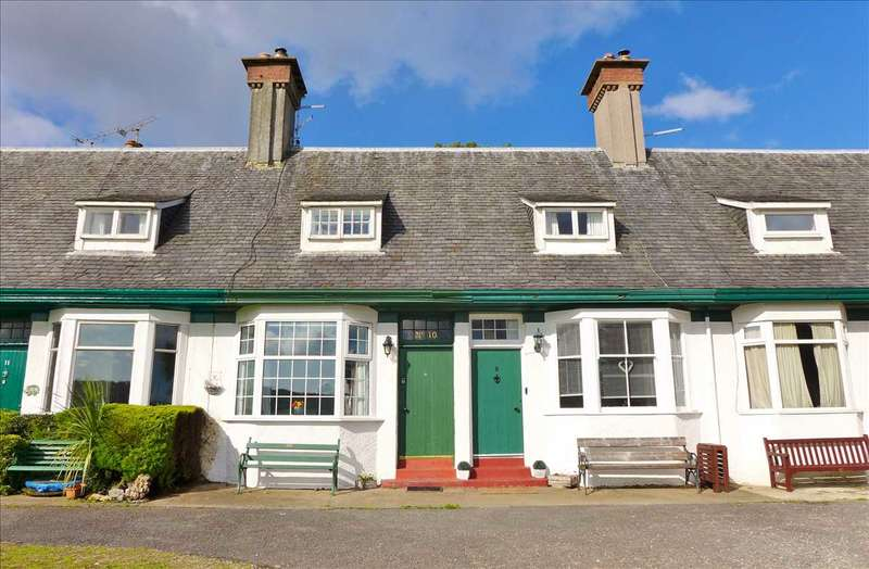 3 Bedrooms Terraced House for sale in Hamilton Terrace, Shore Road, Lamlash