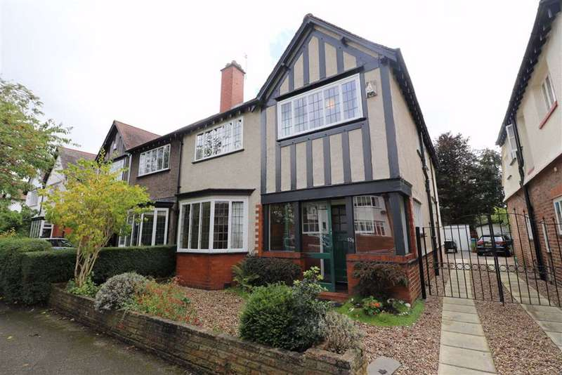4 Bedrooms Semi Detached House for sale in South Drive, Chorltonville, Manchester, M21