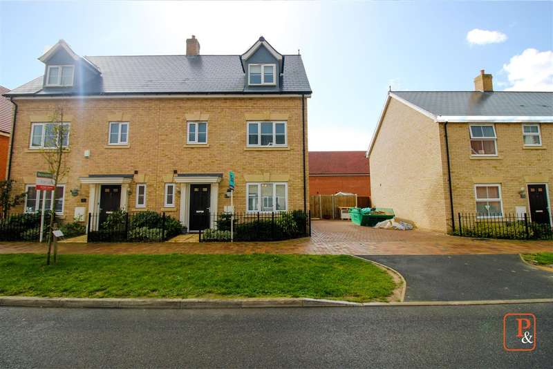 4 Bedrooms Town House for sale in Lancaster Approach, Colchester, CO4