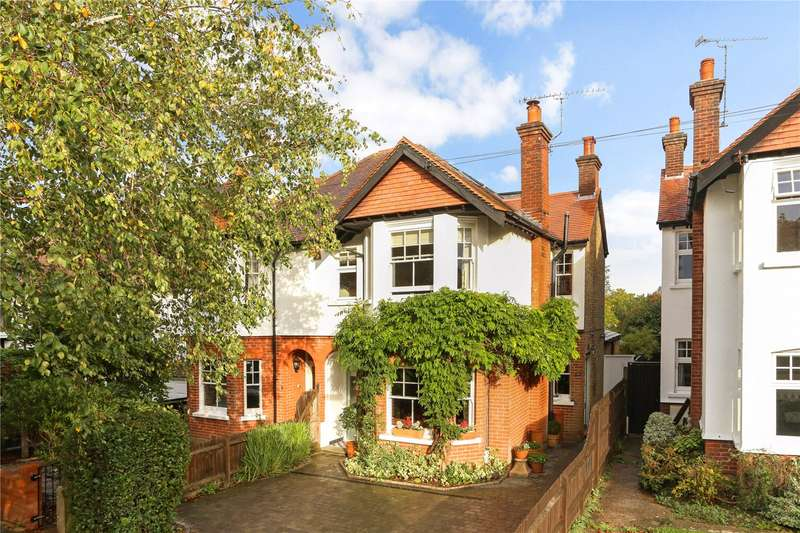5 Bedrooms Semi Detached House for sale in West Hill Avenue, Epsom, Surrey, KT19