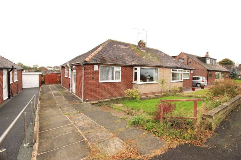 3 Bedrooms Semi Detached Bungalow for sale in North Downs Road, Shaw, OL2