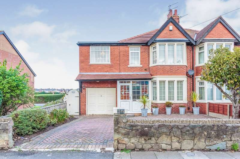 3 Bedrooms Semi Detached House for sale in Highfield Road, Blackpool, Lancashire, FY4