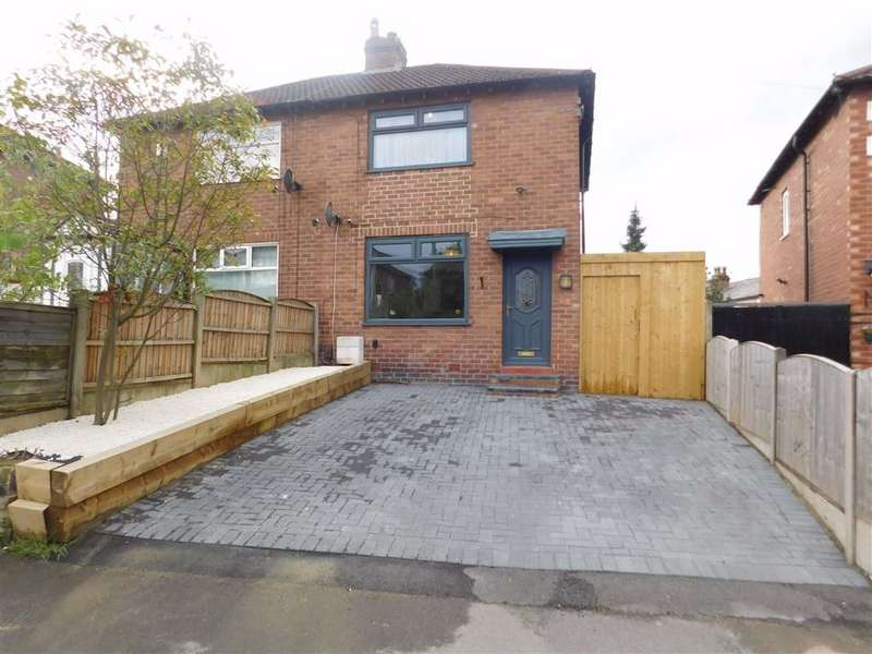 2 Bedrooms Semi Detached House for sale in The Quadrant, Offerton, Stockport
