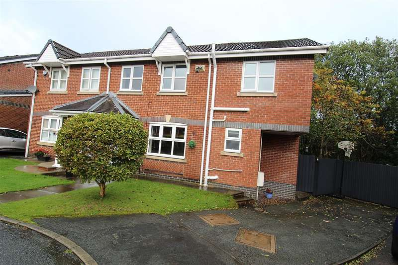4 Bedrooms Semi Detached House for sale in Pitcombe Close, Bolton