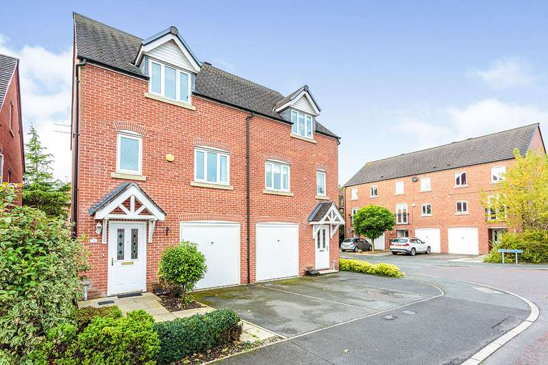 3 Bedrooms Semi Detached House for sale in Keepers Wood Way, Catterall, Preston, PR3
