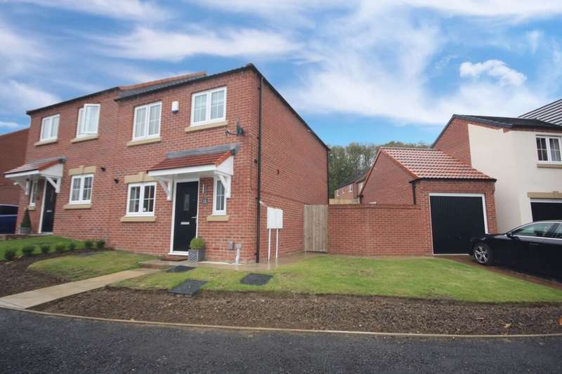 3 Bedrooms Semi Detached House for sale in Lockton Close, Guisborough, TS14