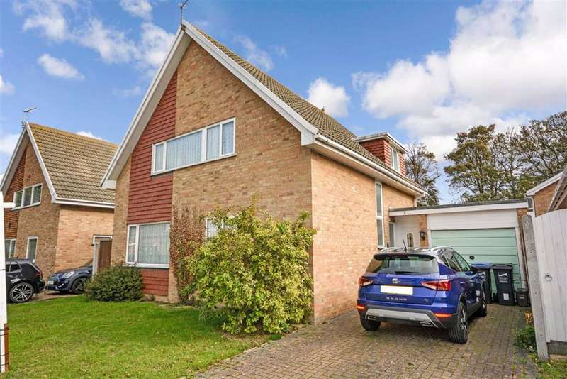 3 Bedrooms Detached House for sale in Rugby Close, Broadstairs, Kent