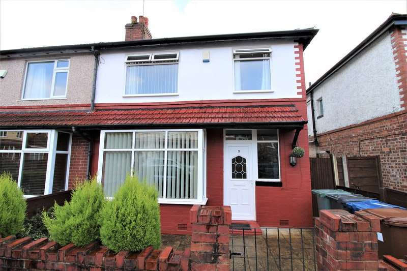 3 Bedrooms Semi Detached House for sale in Grosvenor Avenue, Manchester, Greater Manchester, M45