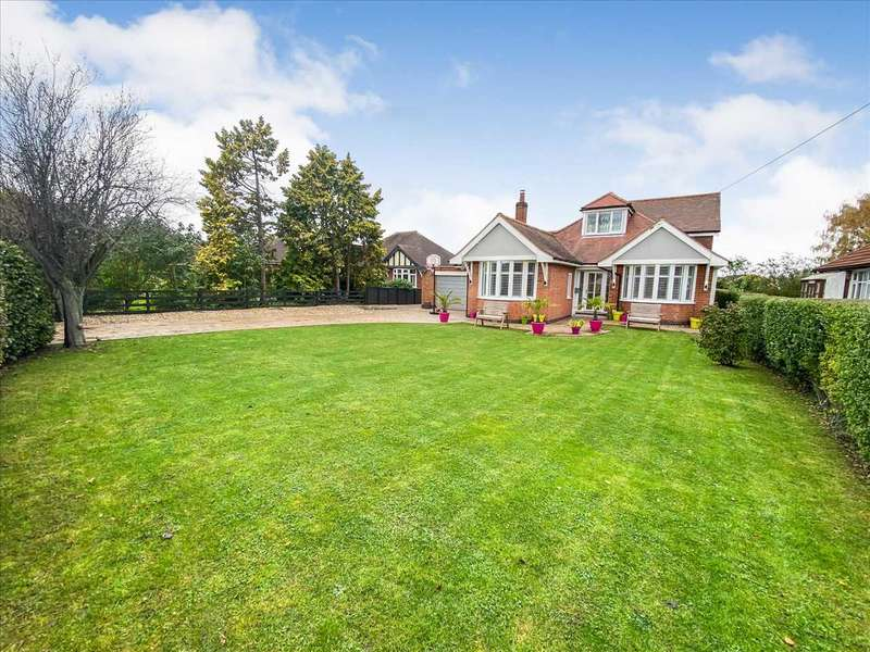 4 Bedrooms Detached Bungalow for sale in Selby Lane, Keyworth, Nottingham