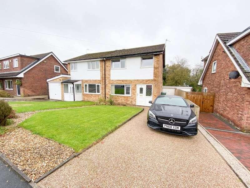 3 Bedrooms Semi Detached House for sale in Croft Close, Reedsholme, Rawtenstall, Rossendale