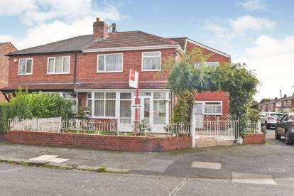 5 Bedrooms Semi Detached House for sale in Kings Road, Chorlton, Manchester, Greater Manchester