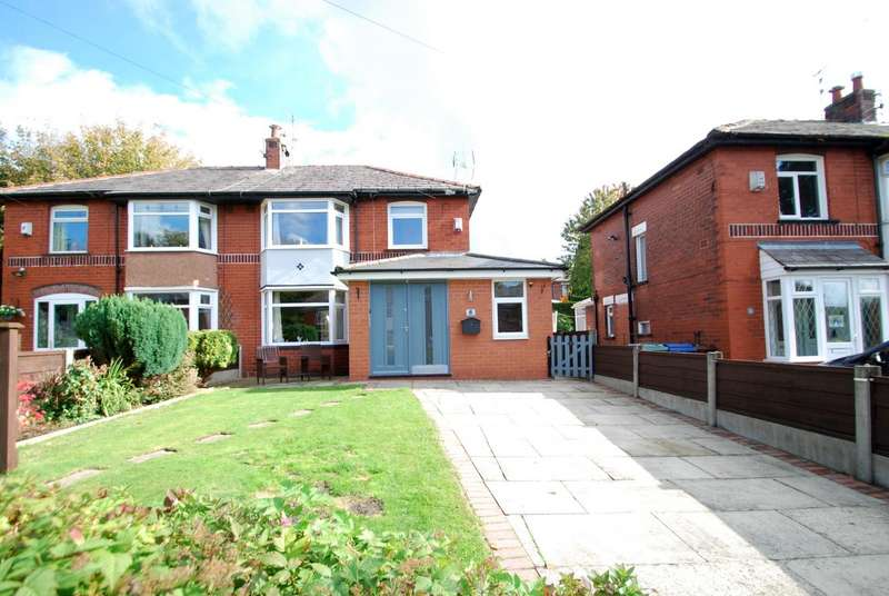 3 Bedrooms Semi Detached House for sale in Hazelwood Drive, Bury
