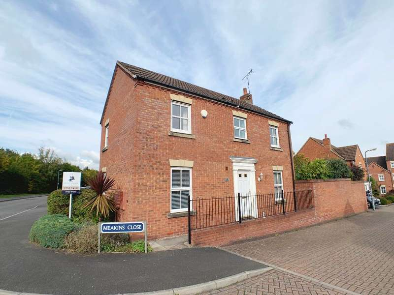 3 Bedrooms Detached House for sale in Meakins Close, Chase Meadow, Warwick