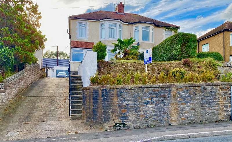 3 Bedrooms Semi Detached House for sale in Glasllwch Crescent, High Cross, Newport. NP10 9SG