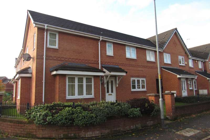 4 Bedrooms End Of Terrace House for sale in Livingston Avenue, Manchester, M22