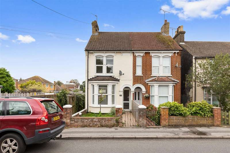 3 Bedrooms Semi Detached House for sale in Mead Road, Willesborough, Ashford