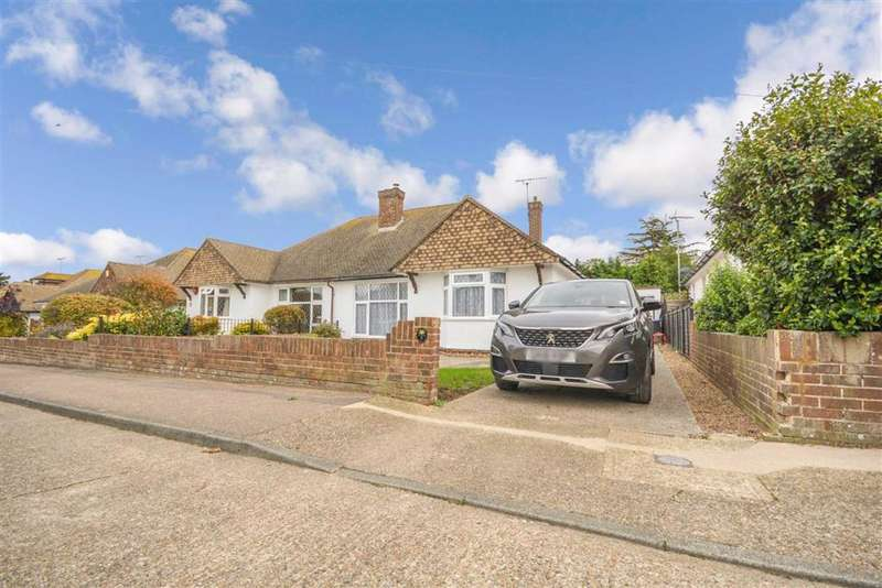 2 Bedrooms Semi Detached Bungalow for sale in Capel Close, Broadstairs, Kent