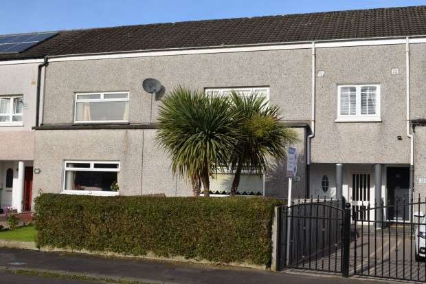 3 Bedrooms Terraced House for sale in 24 Craigmuir Crescent, Penilee, G52