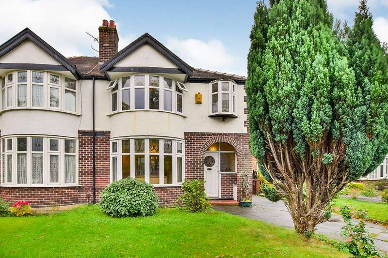 3 Bedrooms Semi Detached House for sale in Wilmslow Road, Manchester, Greater Manchester, M20