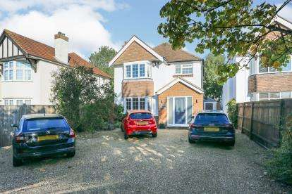 4 Bedrooms Detached House for sale in Bitterne Village, Southampton, Hampshire