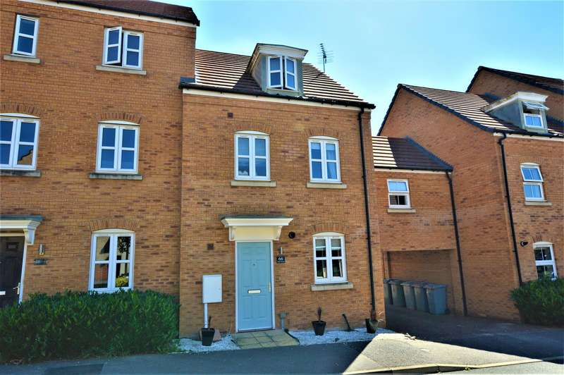 3 Bedrooms Semi Detached House for sale in Banks Crescent, Stamford
