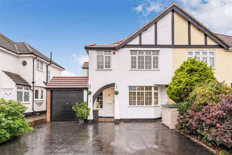 4 Bedrooms Semi Detached House for sale in Crest View Drive, Petts Wood, Kent