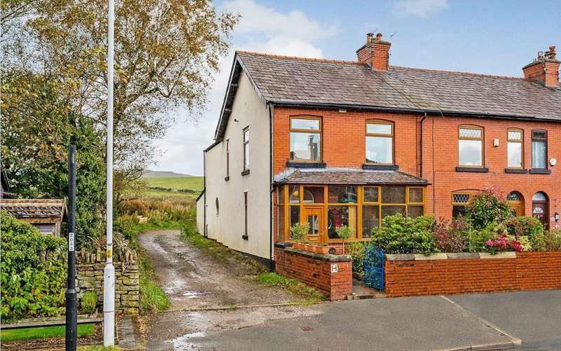 4 Bedrooms End Of Terrace House for sale in Blackburn Road, Turton, Bolton