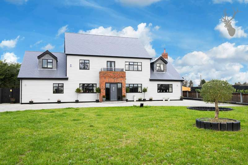 4 Bedrooms Detached House for sale in Tysea Hill, Stapleford Abbotts, Essex