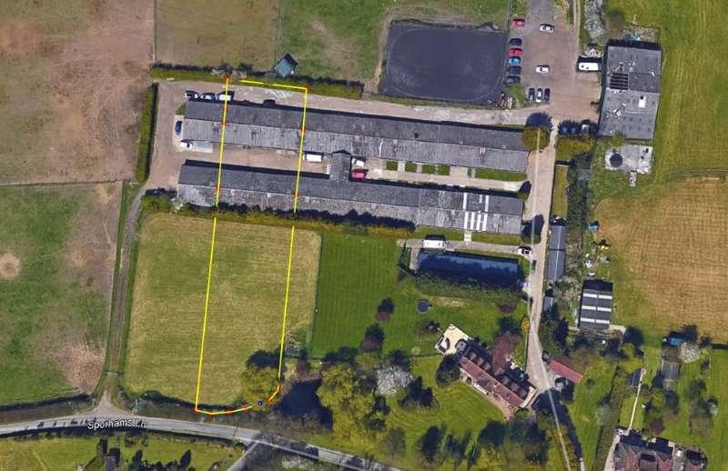 Residential Development Commercial for sale in Plot 2 Rear Of Chamberlains Farm, Sporehams Lane, Danbury, Essex