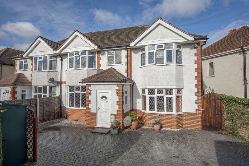 5 Bedrooms Semi Detached House for sale in Church Road, Byfleet, West Byfleet, KT14