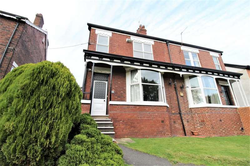 4 Bedrooms Semi Detached House for sale in Burncross Road, Burncross, Sheffield, S35 1TG