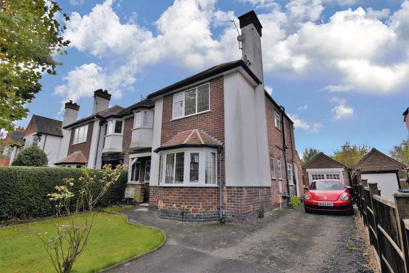 5 Bedrooms Semi Detached House for sale in Dunster Road, West Bridgford, NG2 6JE