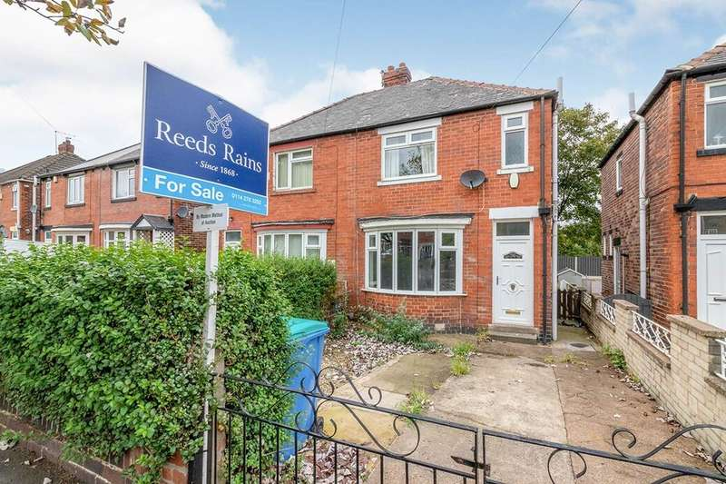 3 Bedrooms Semi Detached House for sale in Handsworth Avenue, Sheffield, S9