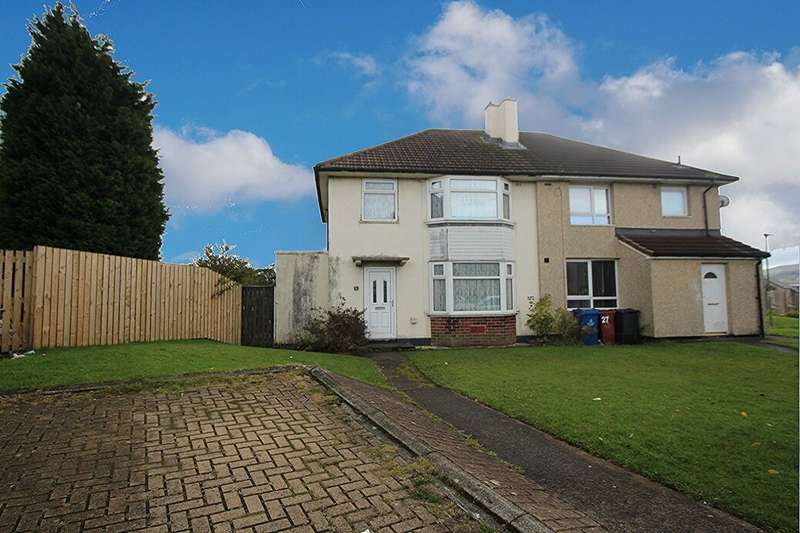 3 Bedrooms Semi Detached House for sale in Silverdale Close, Blackburn, BB2