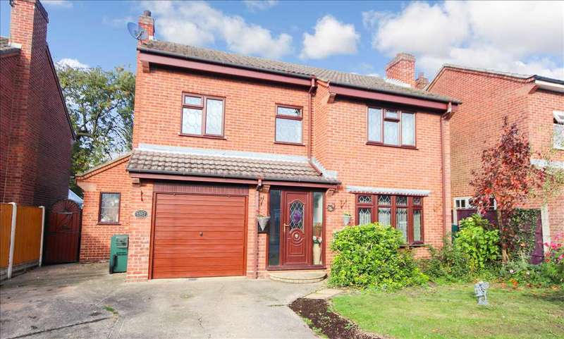 4 Bedrooms Detached House for sale in Wyatt Close, Martin, Lincoln