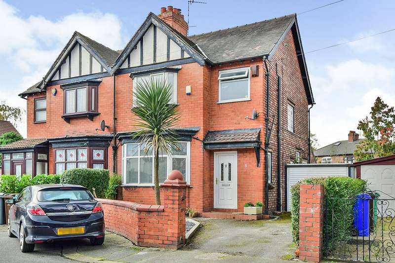 3 Bedrooms Semi Detached House for sale in Austin Grove, Manchester, Greater Manchester, M19